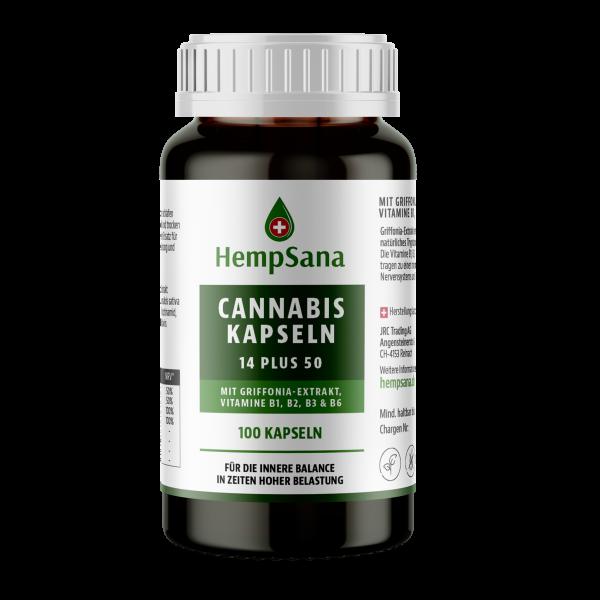 HempSana Cannabis Kapseln
